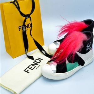 Fendi Karl Love High top sneakers Limited Edition